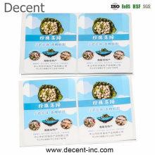 Decent Free Sample Waterproof Vinyl Stickers Custom Adhesive Stickers Printing Custom Logo Print Labels