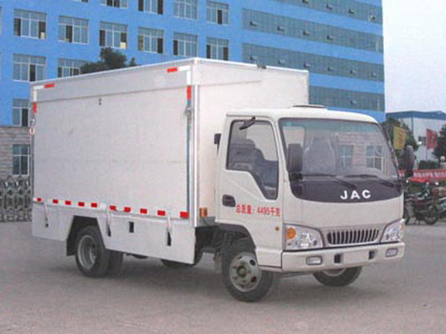 JAC 136HP Truck Stage Mobile Untuk Roadshow