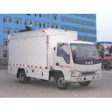 JAC 136HP Mobile Stage Truck For Roadshow