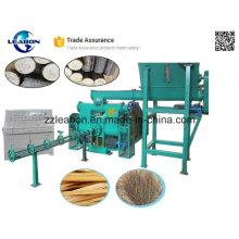 Prensa de pistón para hacer briquetas de madera Crisol de madera calorífica