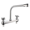 Double Handle ABS Kitchen Faucet