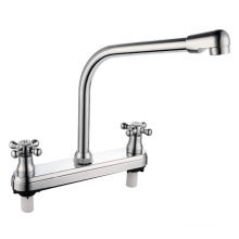 Double Handle ABS Kitchen Faucet
