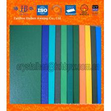 Pano de poliéster revestido de PVC impermeável para cobertura de lona
