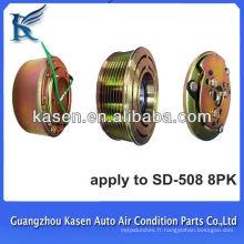 Sande508 ac embrayage compresseur embrayage magnétique 8pk