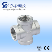 Stainless Steel Thread NPT Cross