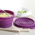 silicone folding pet bowl