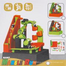Electric Light Music Track Bola DIY rompecabezas de juguete educativo