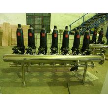 Filtro de disco automático Ss para tratamento de água agrícola