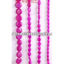 Fashion jewelry bead with dyed color