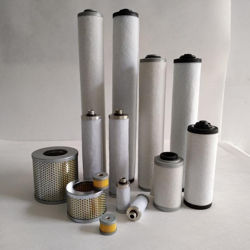 vacuum pump filter element
