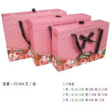 Top-Qualität weiß Hochzeitskleid Verpackung Box Hersteller