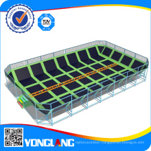 High Quality Large Indoor Trampoline with Dodgeball for Kid