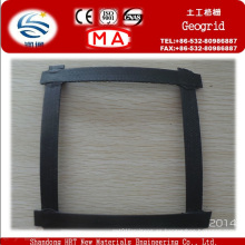 Geomalla compleja de plástico biaxial de acero