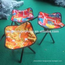 Canvas folded stool hunting traingle fishing elderly folding chair