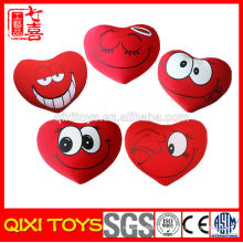 Wholesale Pillow Heart Shaped Plush Emoji Pillow
