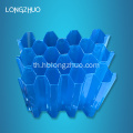 Hexagonal Honeycomb การบรรจุ PP Tube Settler Media