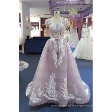 Vestidos de noite roxo do coquetel do baile de finalistas do tule