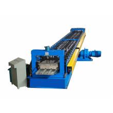 Профилегибочная машина для производства панелей пола с закрытым настилом новой конструкции