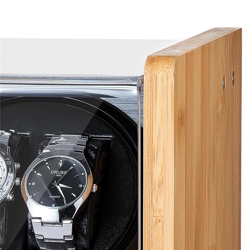 Ww 9501 3 Bamboo Wood Watch Winder