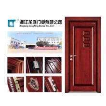 Porte intérieure en bois de luxe (LTS-405)