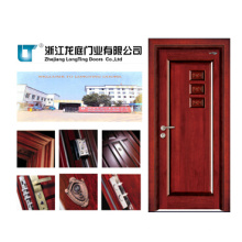 Porta de madeira interior de luxo (LTS-405)