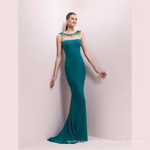 Smaragd Sicke Mermaid Prom Cocktail Abendkleid