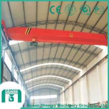 High Quality Single Girder Bridge Crane with Electric Hoist