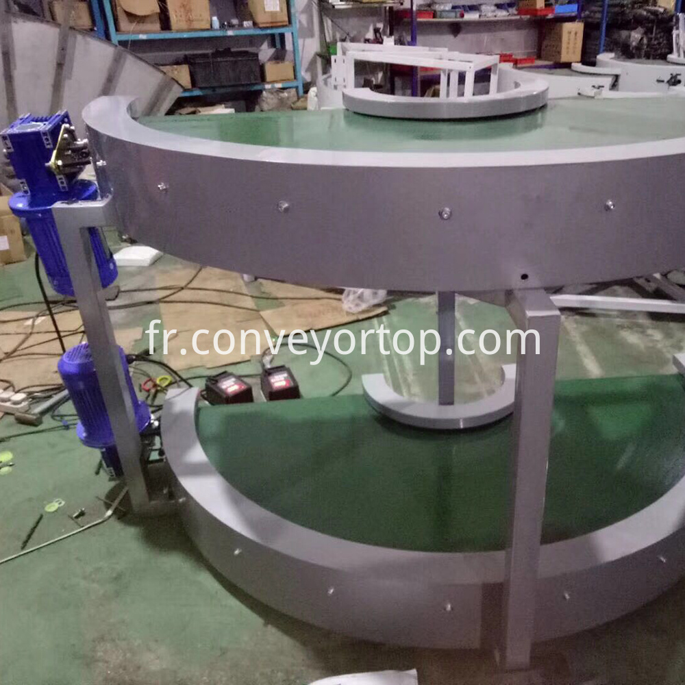 180 Degree Curve Conveyor Table