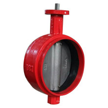 Grooved End Butterfly Valve with Bare Shaft