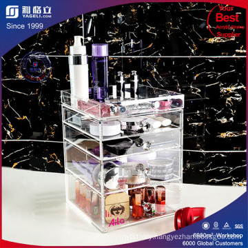 for Wholesalers Acrylic Makeup Organizers Cosmetic Drawer Box