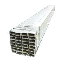 Tianjin manufacturer pre galvanized square steel tube carbon ms square steel pipe for fence post