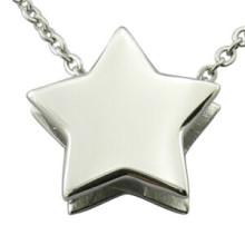 Colgante de logotipo de láser colgante de estrella DIY Fashion Jewellry