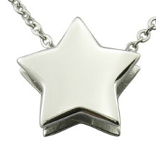 Star Pendant Laser Logo Pendant DIY Fashion Jewellry