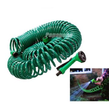 Manguera de bobina con soporte Herramientas de jardín