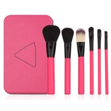 6PCS Metal Box Package Make up Brush Set