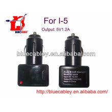 Chargeur de voiture USB 5V1.2A pour iPhone 4 / 4S / 5