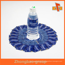 Guangzhou factory customizable water proof shrinkable attractive bottled water label design