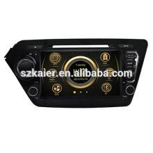Multimédia de voiture usine directe pour KIA K2 / Rio 2011-2012 avec GPS / Bluetooth / Radio / SWC / Internet virtuel 6CD / 3G / ATV / iPod / DVR