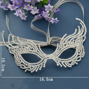 Unique Gorgeous Crystal Masquerade Mask