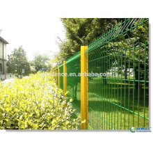 PVC/PE Coated triangle bending Wire Mesh Fence