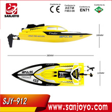 Summer toys! SJY-912 2.4G 4CH high speed remote control racing ship boat with powerful motor