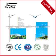 LED-Licht mit Stahl Straßenleuchte Post
