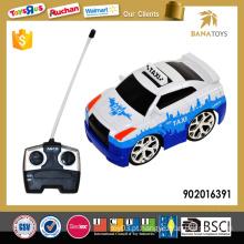 4CH miúdos rc carro pequeno brinquedo com música e luz