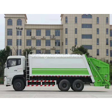Dongfeng 6x4 Garbage Compactor Trucks Prix