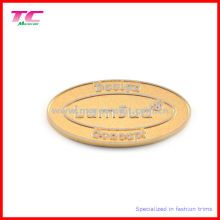 Custom Embossed Logo Metal Brand Sticker