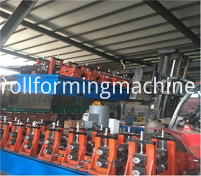Steel Profile C Shape Roll Forming Machines