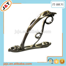 luxurious aluminum curtain rod bracket