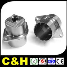 CNC piezas de mecanizado hechas con acero inoxidable de aluminio de latón de plástico