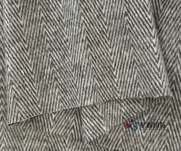 Double Face Woven Wool Blend Fabric