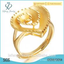 Atacado Preço 18k banhado a ouro anel de casamento da jóia para as mulheres